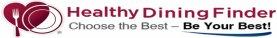 healthy dining finder app