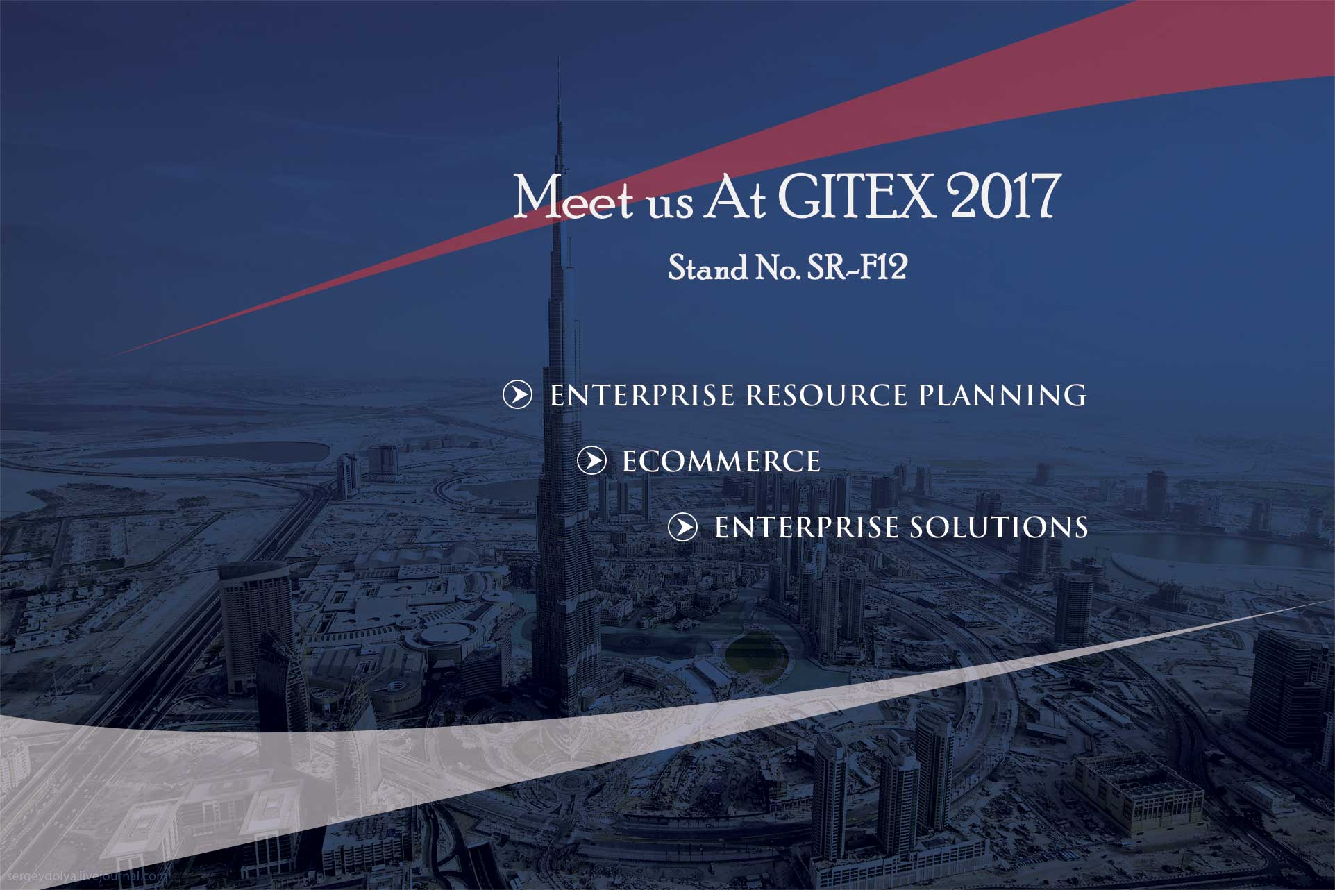 SynergyTop to Exhibit Ecommerce and ERP Proficiency at the GITEX 2017 in Dubai.