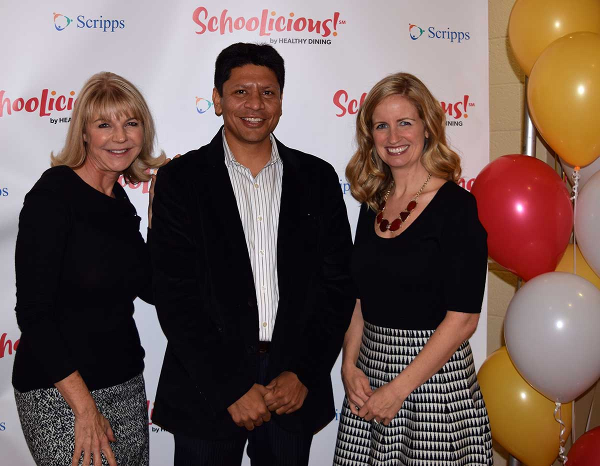 Jatin Nahar, CEO SynergyTop at the Schoolicious launch
