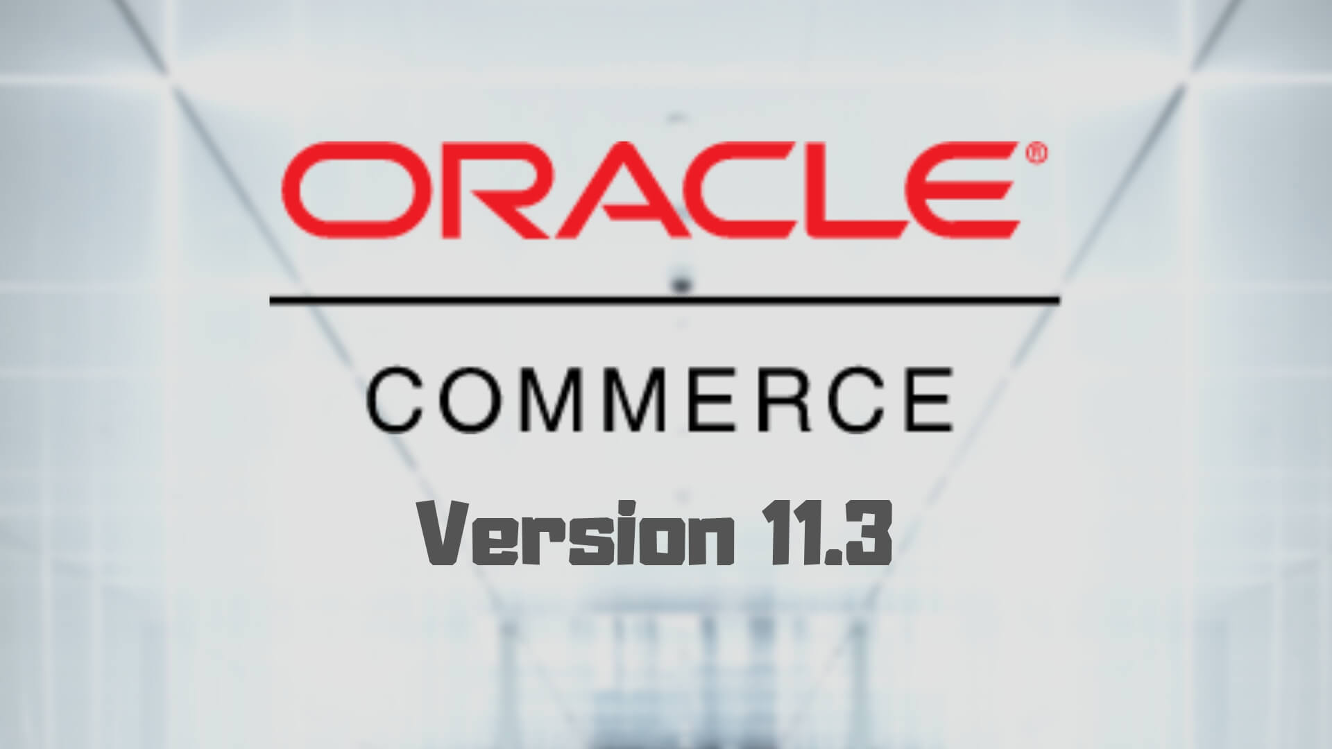 Oracle Version 11.3